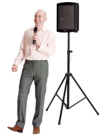Challenger 1000 Portable PA System and Wireless Microphone