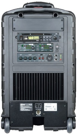 MA808CDM6 Portable PA System with Wireless Microphone and CD Player