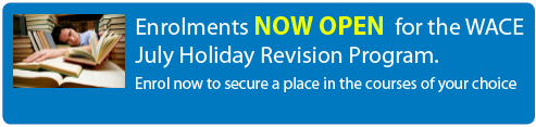 July Holiday Revision program