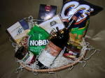 Savoury Hamper with Wine