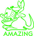 Amazing Kangaroo Merit Stamp