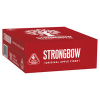 STRONGBOW ORIGINAL CANS 30 PACKS