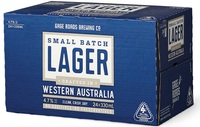 GAGE ROADS SMALL BATCH LAGER CARTON 24 x 330ML STUBBIES