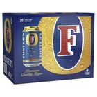FOSTERS CLASSIC LAGER 30 CAN BLOCK