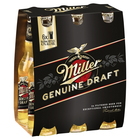 MILLER GENUINE DRAFT 6 PACK STUBBIES
