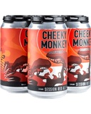 CHEEKY MONKEY SESSION RED ALE 3.5% 4 PACK x 375ML TINNIES CARTON