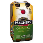 MAGNERS ORIGINAL CIDER 4 x 330ML STUBBIES