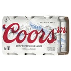 COORS  6 PACK CANS 355ml