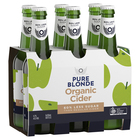 PURE BLONDE CIDER 6 PACK 355ML STUBBIES