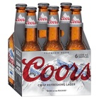 COORS  6 PACK STUBBIES 330ml