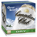 CANADIAN CLUB and DRY 24 X 375ML CUBE