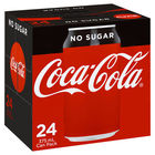 COCA COLA NO SUGAR 24 x 375ML CANS CARTON