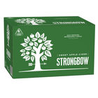 STRONGBOW SWEET CIDER 24 x 355ML STUBBIES