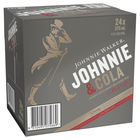 JOHNNIE WALKER RED and COLA  24 X 375ML CANS