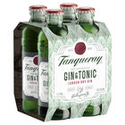 TANQUERAY GIN and TONIC 5.3% 4 x 275ML STUBBIES