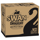 SWAN DRAUGHT BOTTLE 750ML CARTON
