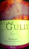 STONE GULLY MERLOT 750ML