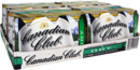CANADIAN CLUB and DRY 24 X 375ML CANS