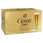CROWN LAGER STUBBIES CARTON 24 STBS