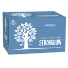 STRONGBOW CLEAR LOW CARB CIDER 24 x 355ML STUBBIES