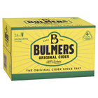 BULMERS CIDER 24 X 330ML STUBBIES