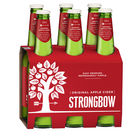 STRONGBOW ORIGINAL CIDER 6 x 355ML STUBBIES