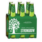 STRONGBOW SWEET CIDER 6 x 355ML STUBBIES