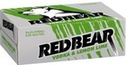 RED BEAR LEMON and LIME 24 x 375ML CANS