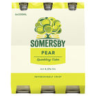 SOMERSBY PEAR 6 x 330ML STUBBIES