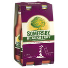 SOMERSBY BLACKBERRY 4 x 330ML STUBBIES