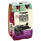 ORCHARD THIEVES DARK FRUIT CIDER 4 x 330ML STUBBIES