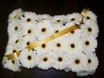 Funeral Pillow Gerberas