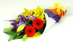Bright flowers to lift someones spirits -delivered