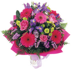 Flower Bouquet Midnight Passion delivered