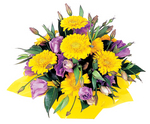 Golden Frienship -flowers for friends that matter