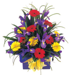 Sympathy flower arrangement -angel kiss