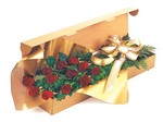 Golden Treasure - A Dozen Perth Roses Boxed