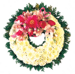 Sympathy Flower Wreath