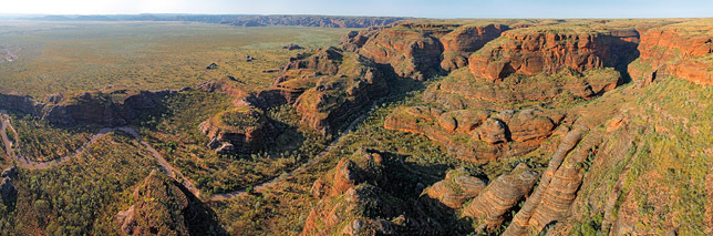 Aerial Red Rock Gorge