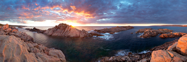 Canal Rocks Sunset