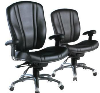 Equipment including chairs keyboards mice document holders lumbar