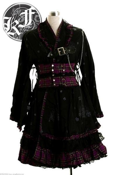 Gothic Fashion on Kimono Elegant Punk   Gothic Punk Fashion   Kimono   Gothic Fashion Is