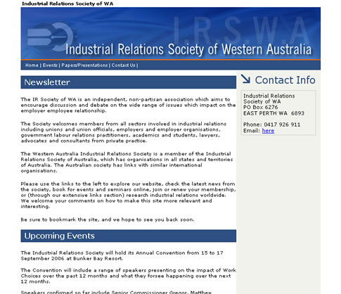 an introduction to the industrial relations in australia Introduction this paper presents an outline of characteristics regarding trade unions in three  if we generally look on asia and the industrial relations.