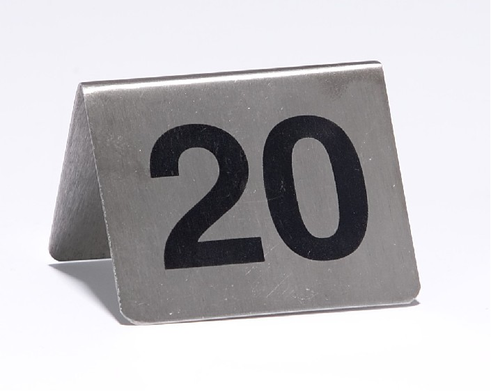 Dining Table Numbers and Stands Hotel Supplies  : Table20Nr20SS201490 1494 from www.hostdirect.com.au size 705 x 562 jpeg 43kB