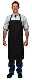 'DNC' Cotton Drill Full Bib Apron - With Pocket