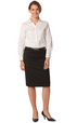 'Winning Spirit' Ladies Poly/Viscose Stretch Mid Length Pencil Skirt
