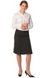 'Winning Spirit' Ladies Wool Blend Stretch Pleated Skirt