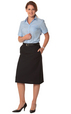 Winning Spirit' Ladies Poly/Viscose Stretch Twill Utility Skirt