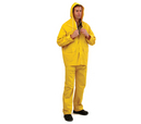 'Prochoice' Yellow PVC Rain Pants