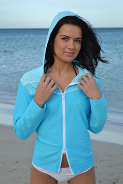 Seafoam Hoodie Jacket Rashie